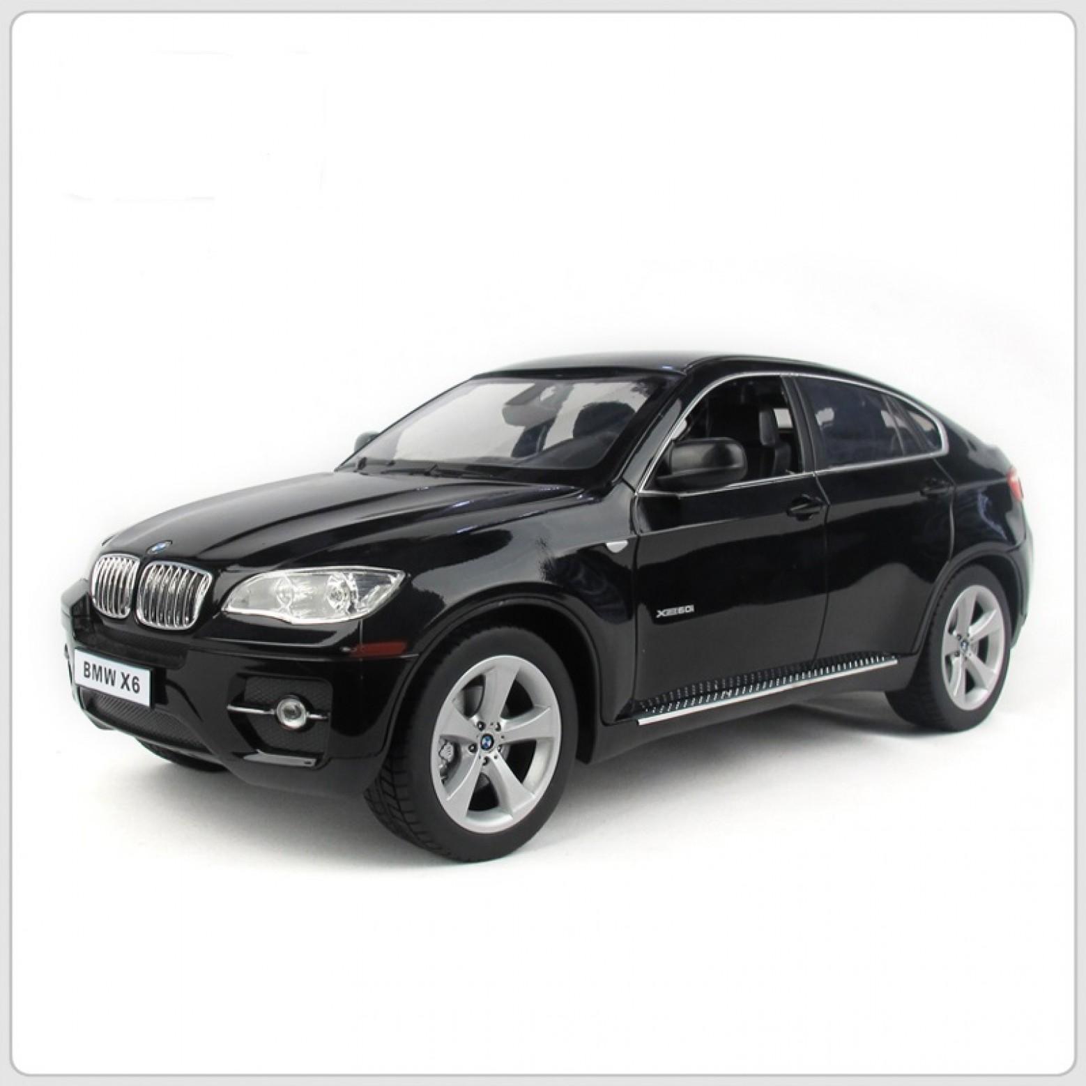 BMW X6 RC Auto 1:14 Zwart