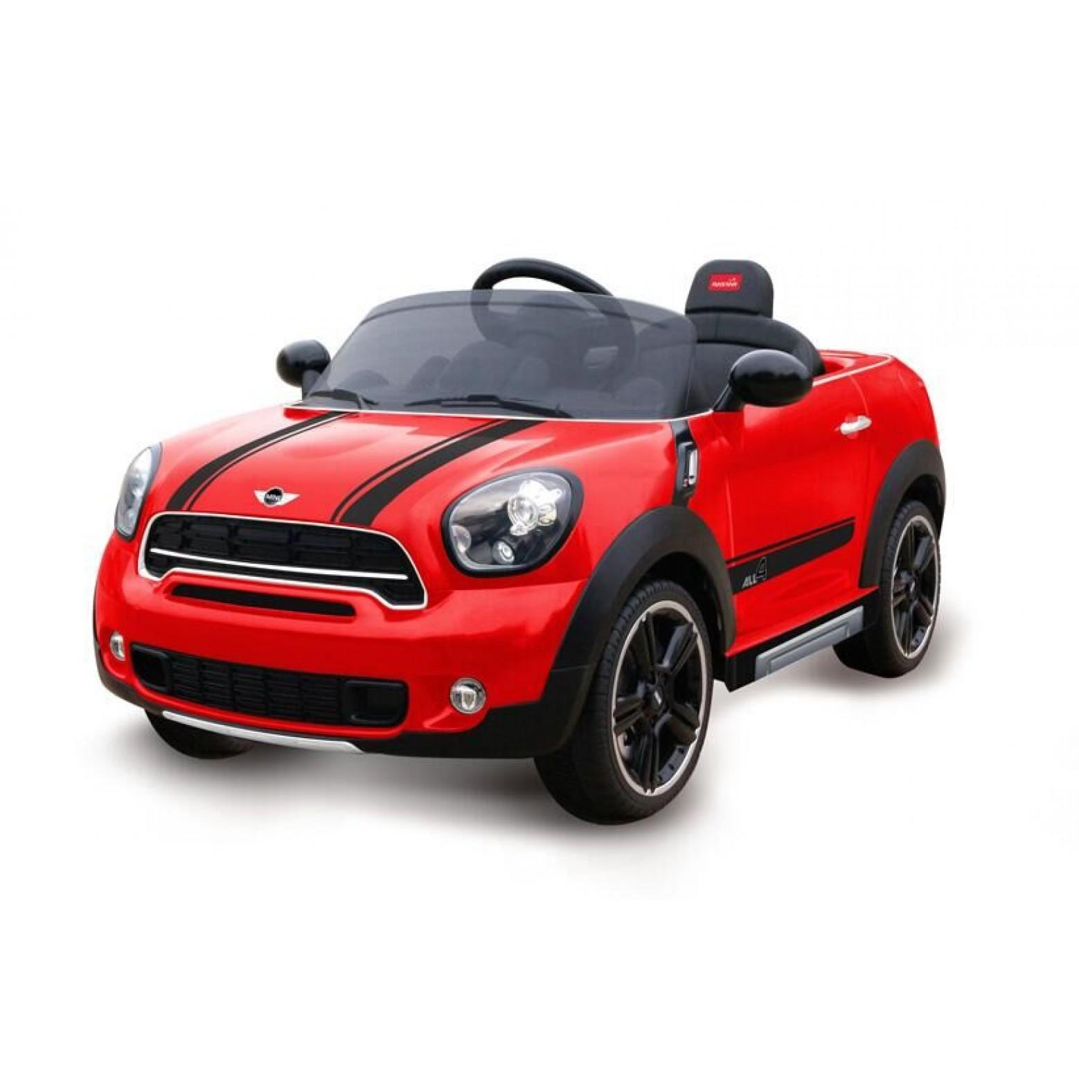 Mini Countryman Accu Auto Rood