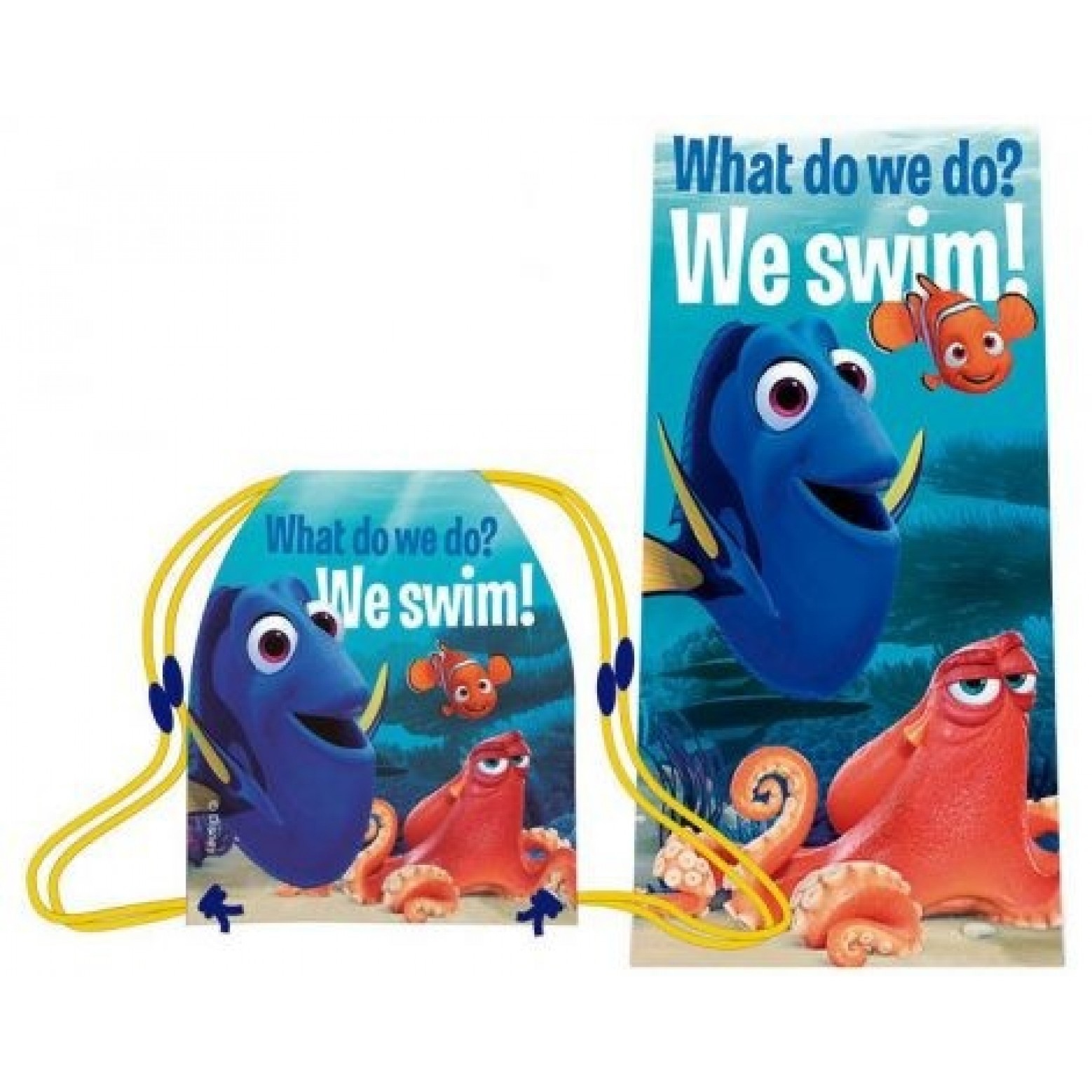 Finding Dory Set Handdoek + gym tas