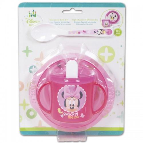 Disney baby magnetronbestendige Baby Minnie ontbijtset