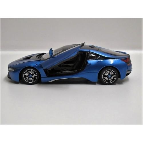 bmw I8 blauw