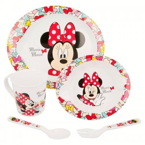 Minnie mouse 5 delig servies set