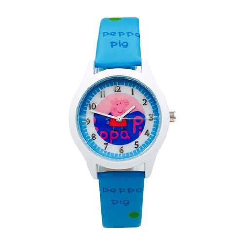Peppa pig horloge licht blauw