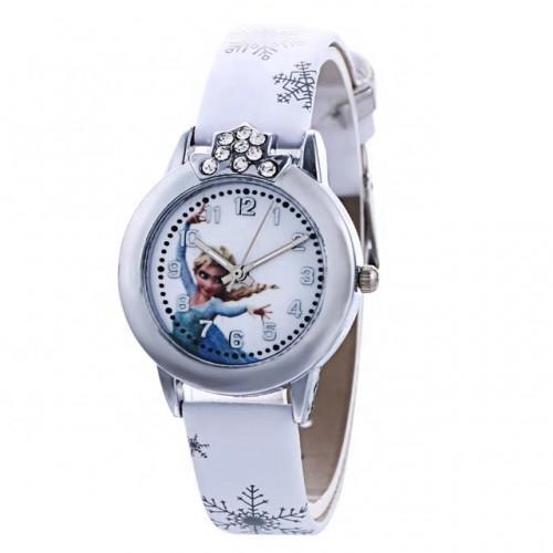 Disney Frozen  Horloge  Leer -Wit Ø 29 mm