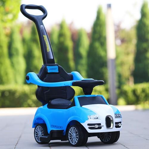 Loopauto limo blauw