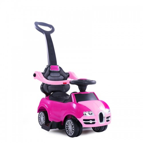 Loopauto limo roze