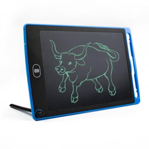 LCD Tekenbord Tekentablet Kinderen 12 Inch Blauw