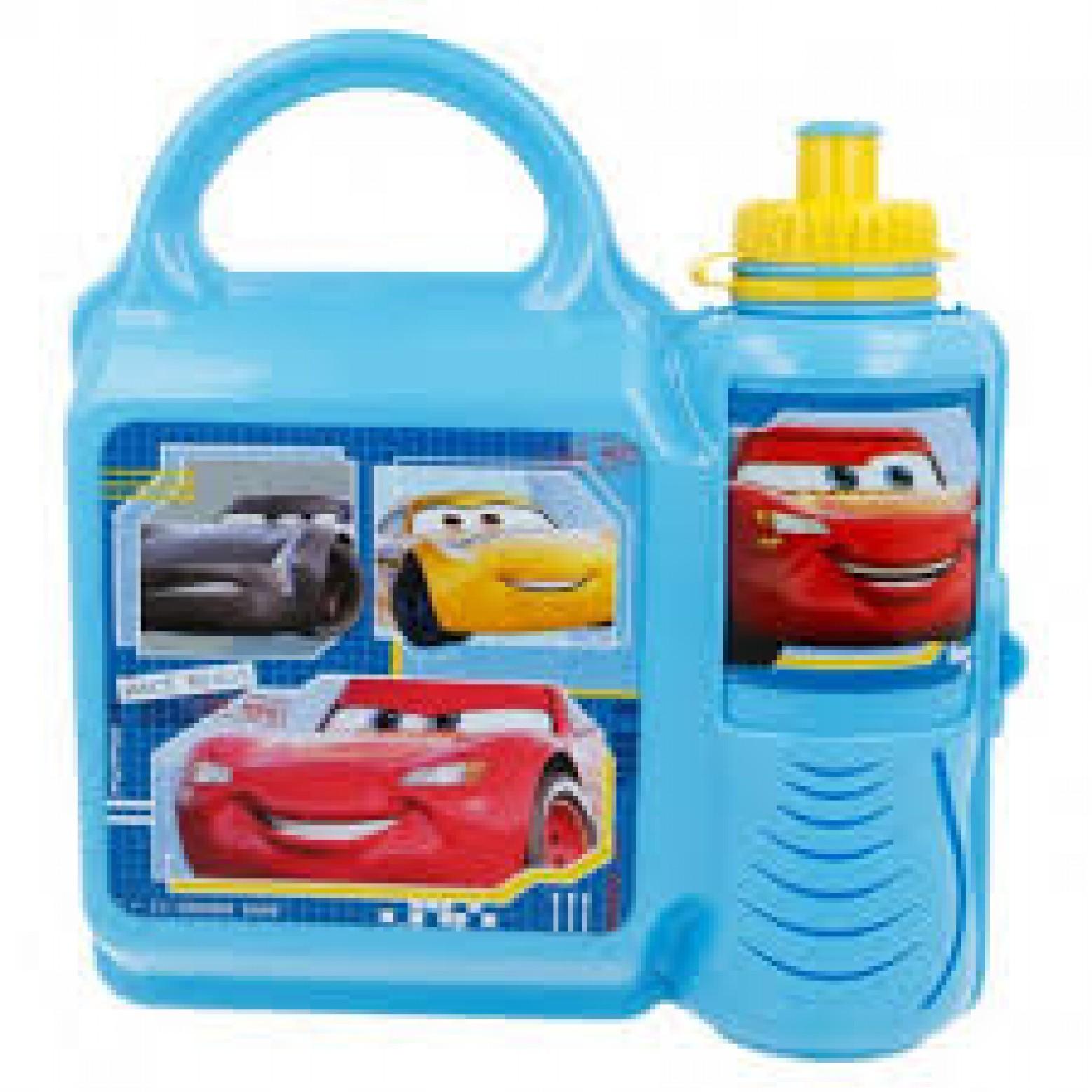 Cars lunchbox  en drink beker