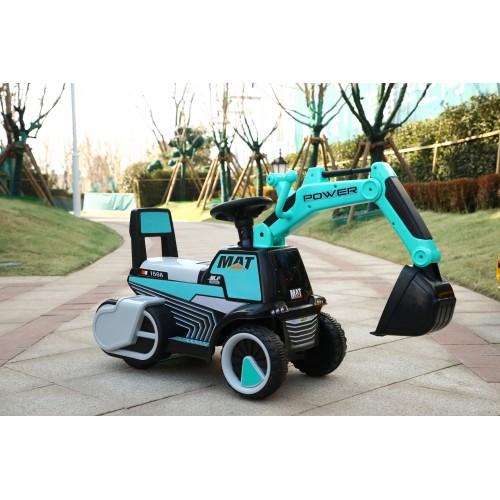 Graafmachine Loopauto Blauw