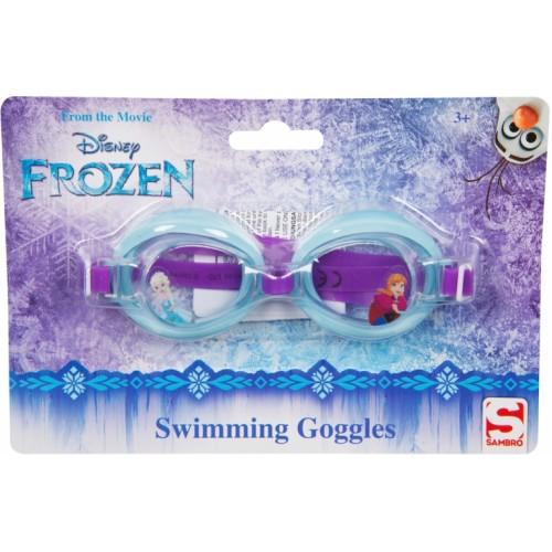 Frozen II zwembril groen/paars one size