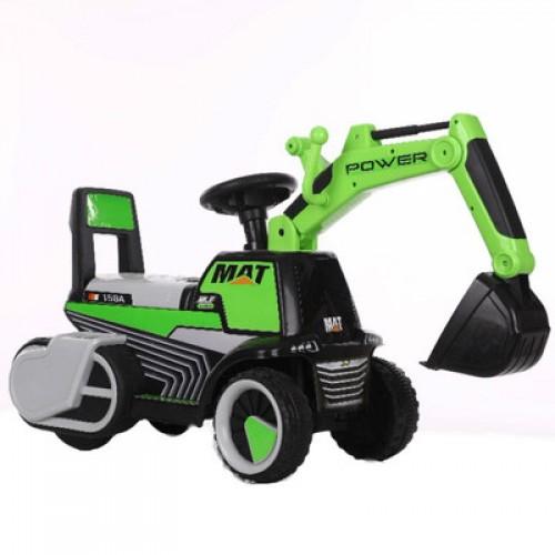 Graafmachine Loopauto Groen