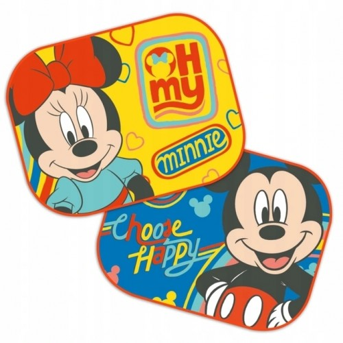 Auto Zonnescherm van  Mickey en Minnie