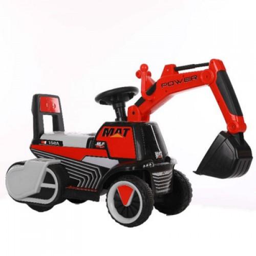 Graafmachine Loopauto Rood