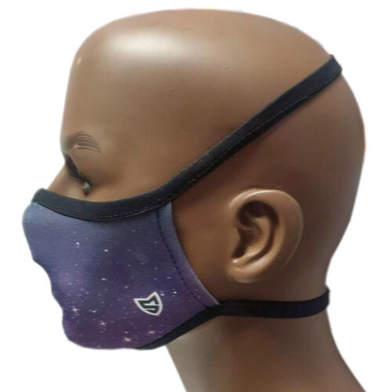 Herbruikbaar mondkapje Game over volwassene star mask