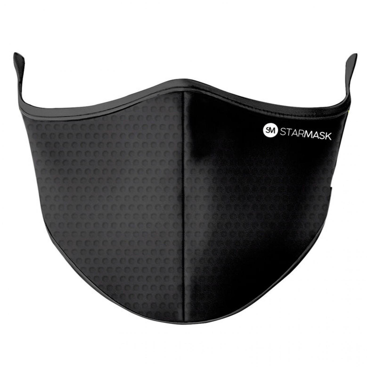 Star Mask herbruikbaar mondkapje carbon maat m