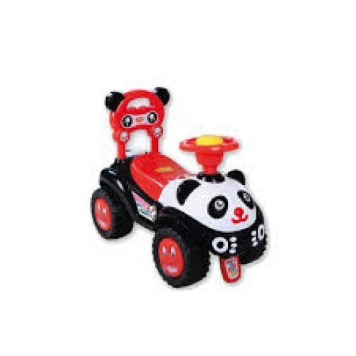 Panda loopauto-zwart