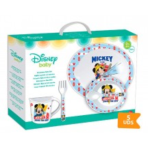 Mickey mouse 5 delig servies set