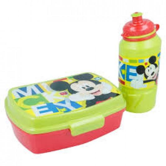 Mickey Mouse lunchbox en drinkbeker