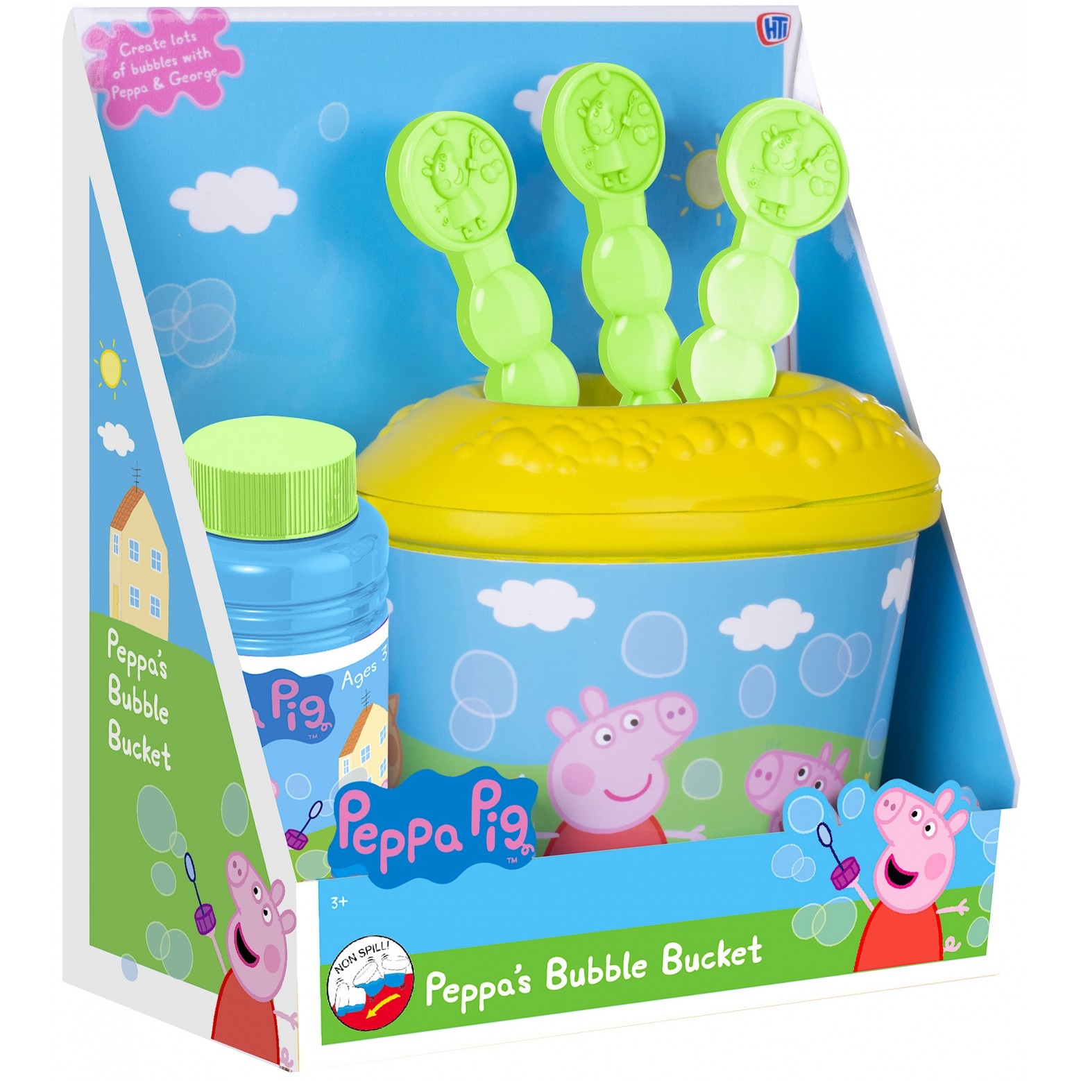 Peppa Pig bellenblaas set