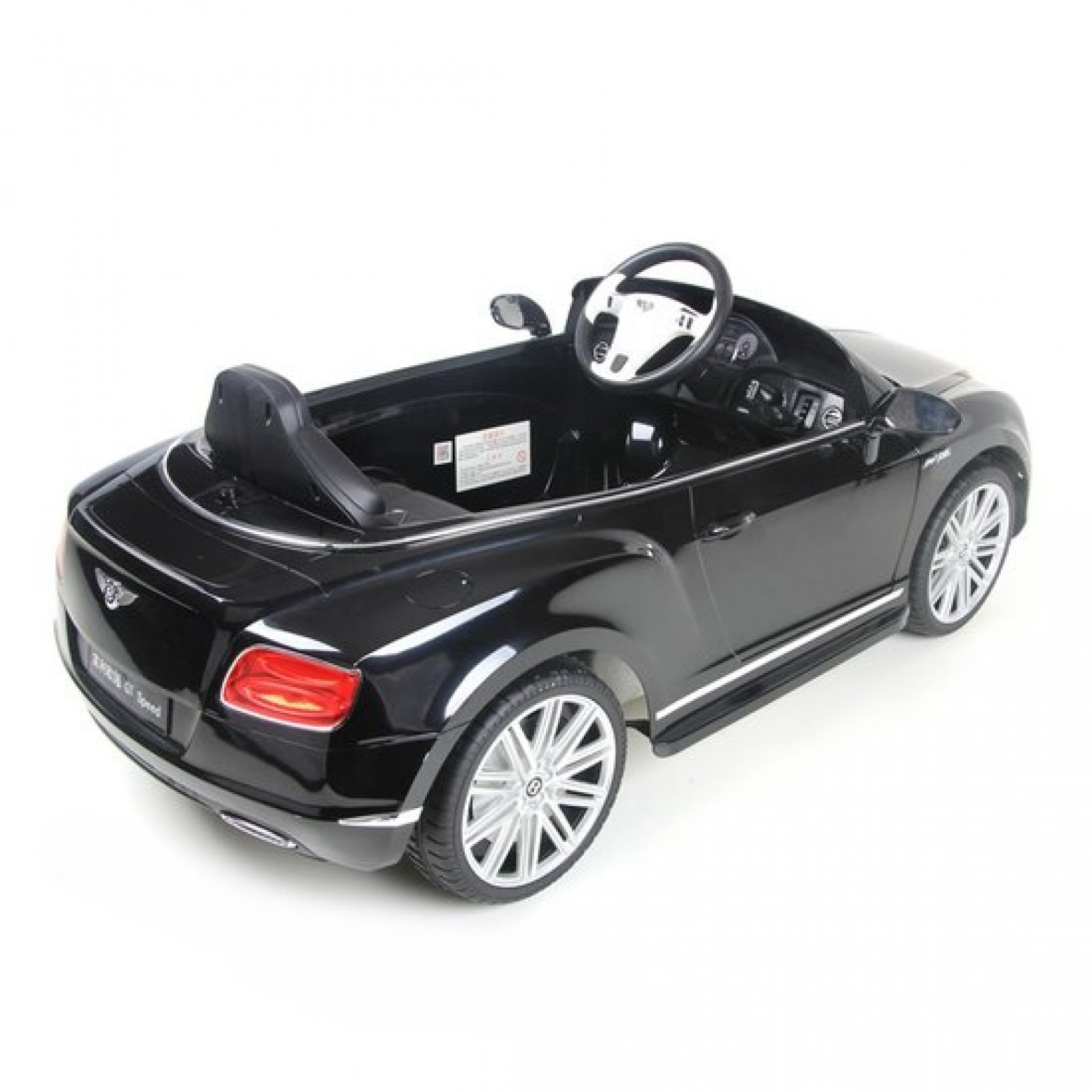 Bentley GTC kinder Accu Auto Zwart