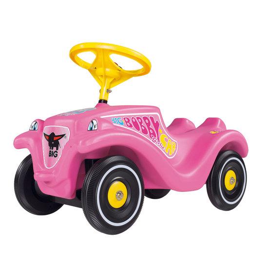 Roze loopauto