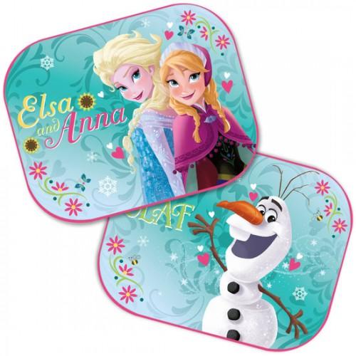 Auto Zonnescherm van Disney Frozen-groen
