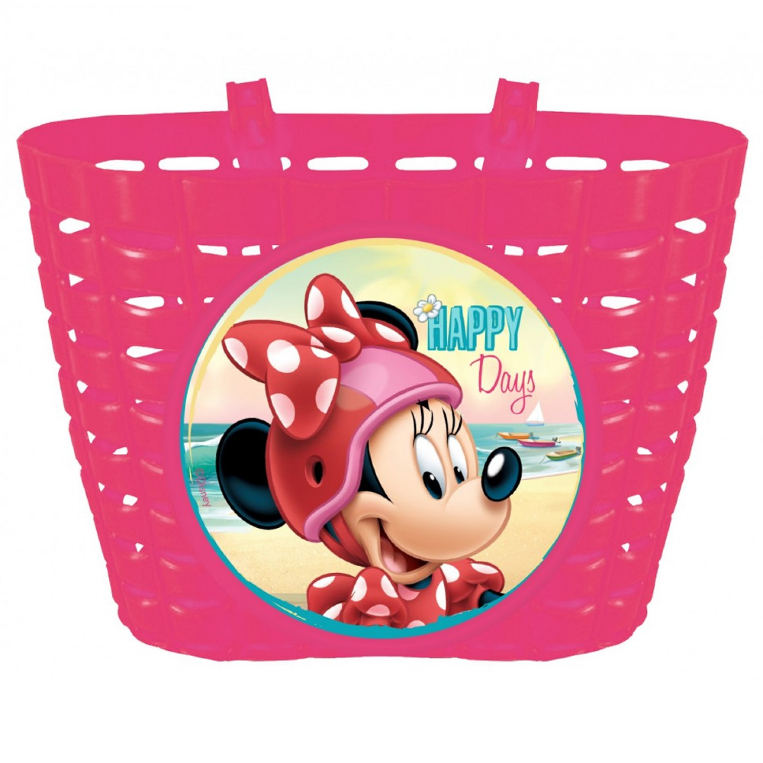 Minnie mouse Fietsmandje