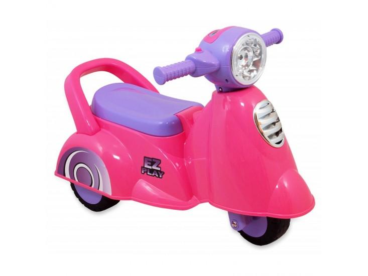 loop scooter roze