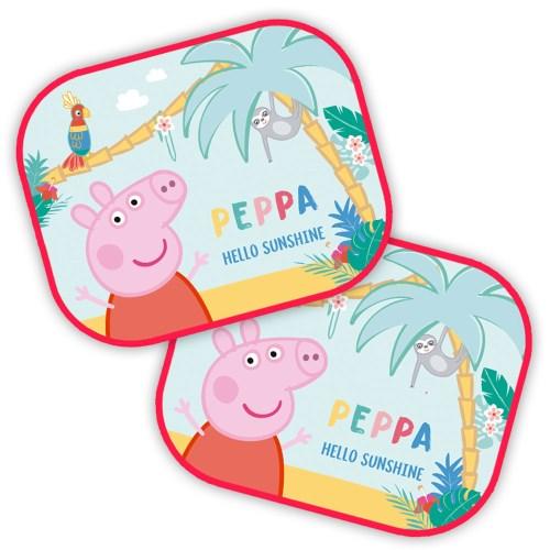 Auto Zonnescherm van Peppa Pig