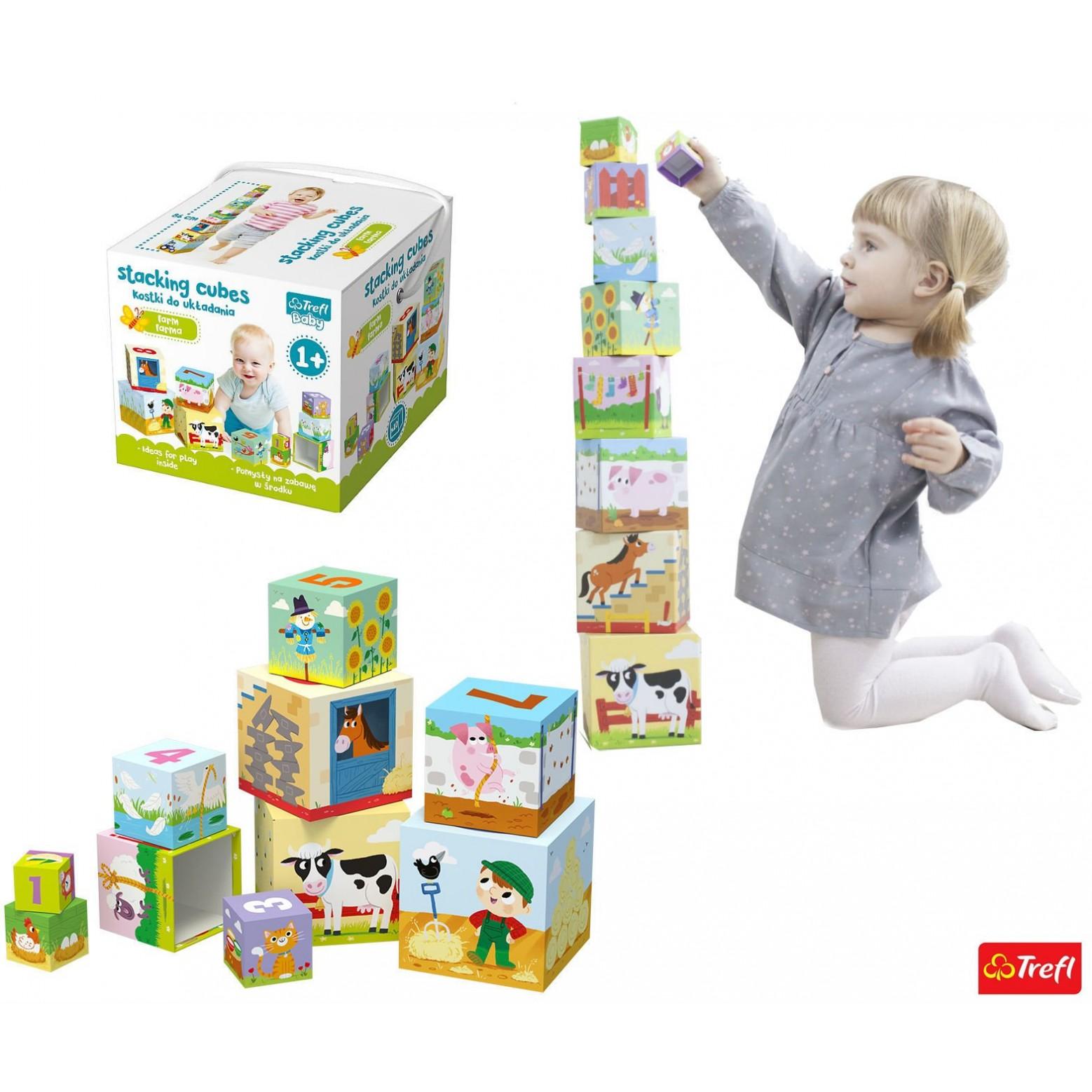 Baby stapelblokken 10 stuks
