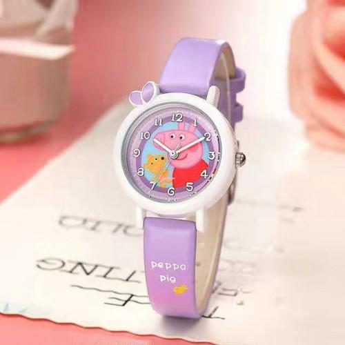 Peppa pig horloge paars