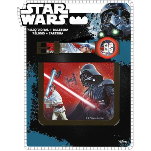 Star Wars horloge+portemonnee