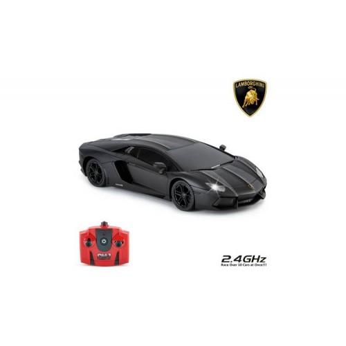 Radio Control Lamborghini Aventador zwart 1:24