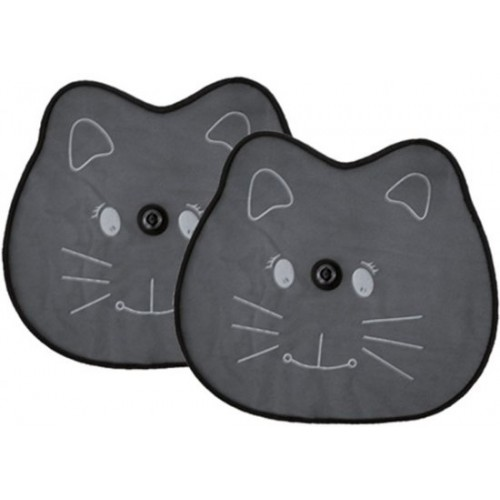 Auto Zonnescherm kitty