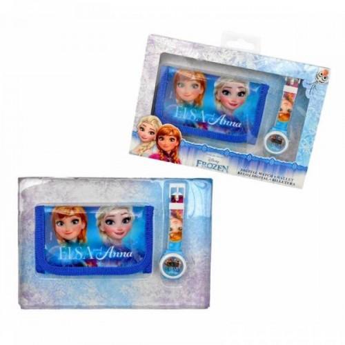 Disney Frozen horloge+portemonnee