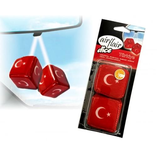 Air flair auto luchtverfrisser dobbelsteen Turkije