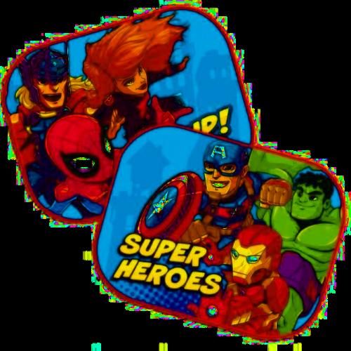Auto Baby Zonnescherm van Marvel Super Hero
