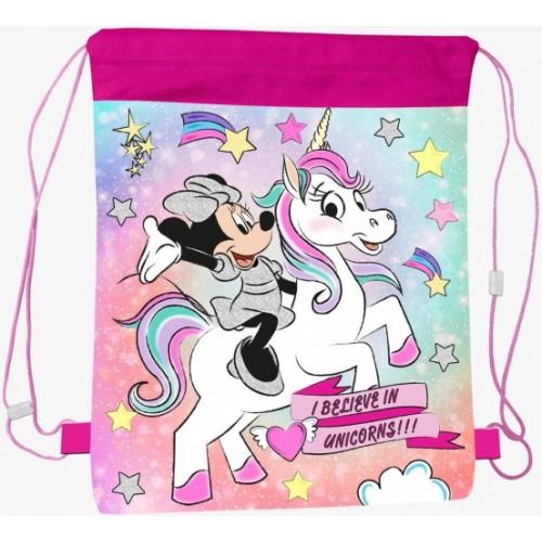 Minnie Mouse en Unicorn  gymtas