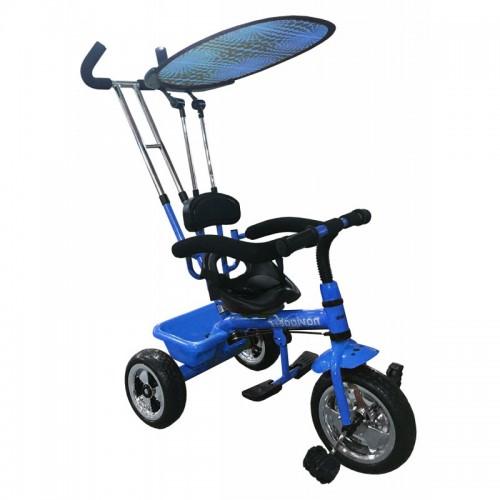 Navigator driewieler in het blauw