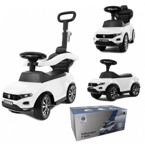 VW T-ROC loopauto wit