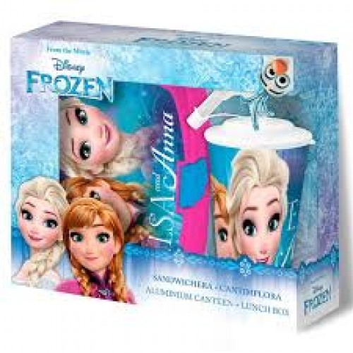 Disney frozen lunch set