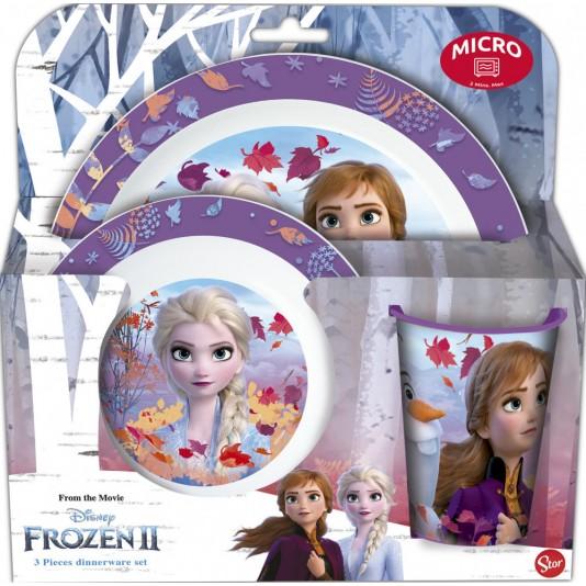 Frozen Magnetron ontbijt set 3-Delig