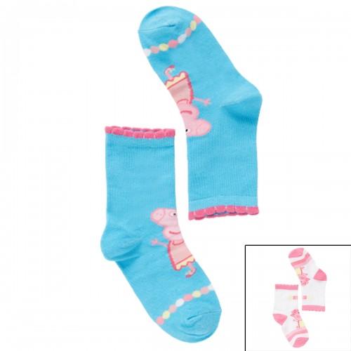 Peppa Pig  sokken 2 paar 23/26