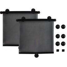 Autozonnescherm zwart 2 stuks