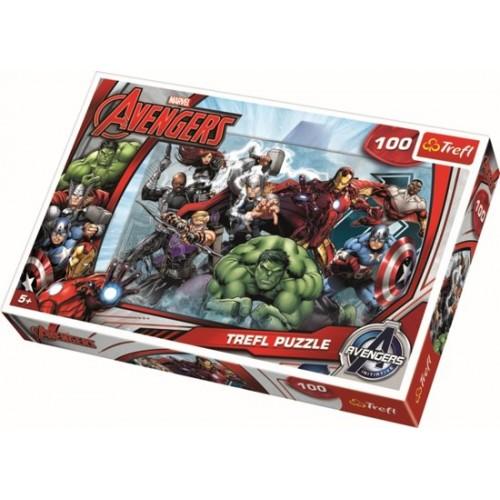 Avengers puzzel 100 stukjes 5+