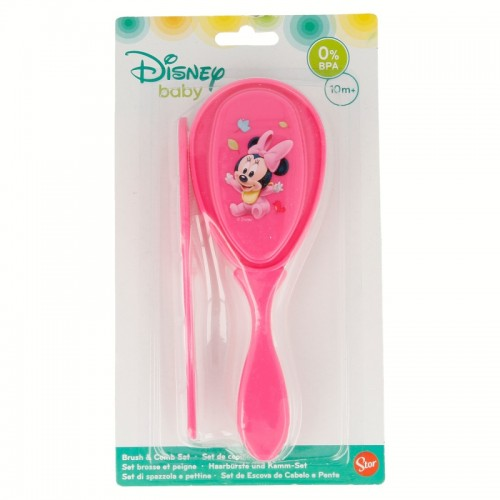 Disney Baby Minnie Mouse borstel en kam