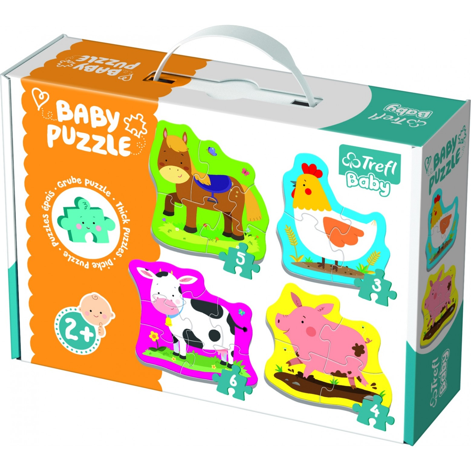 Baby puzzel 4 in 1 2+
