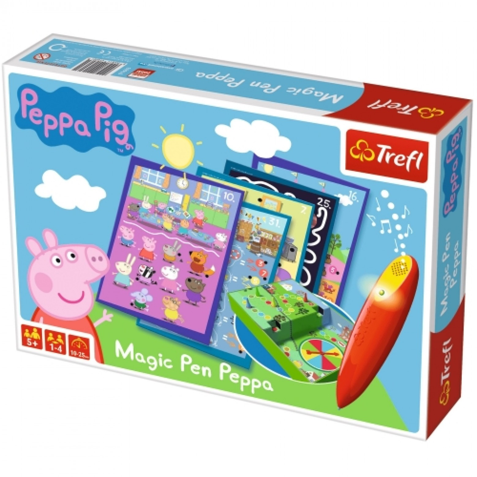 Peppa Pig magic pen bordspel 5+