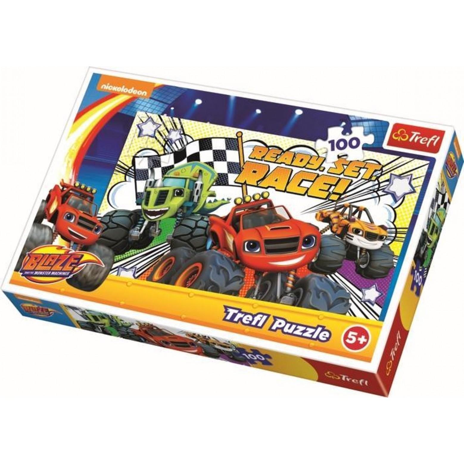 Blaze puzzel 100 stukjes 5+