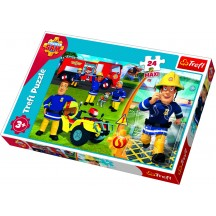 Brandweerman Sam puzzel 24 stukjes